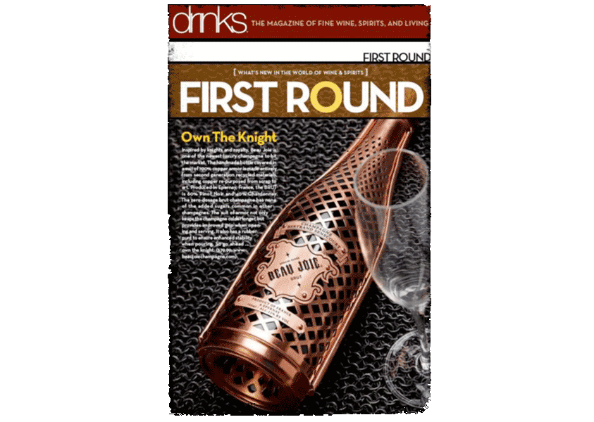 Beau Joie Champagne featured in Drinks